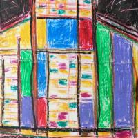 朝日記161123 新しい音楽絵画No.323brightly houseと今日の絵
