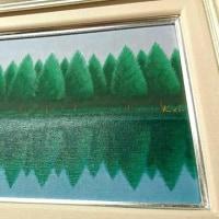 油彩古典技法3「空気感は半透明に、水は透明に塗り重ねる」