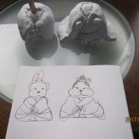 小太郎とモモの雛人形
