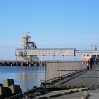 苫小牧東港の様子を見てきた(火力発電所前)