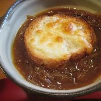 夏のオニオングラタンスープ
