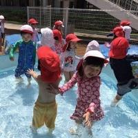 年少組☆神様のお話&水遊び