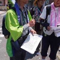一宮友歩会の7月例会の下見