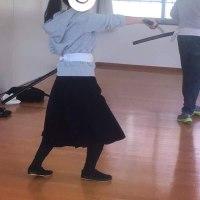 武者行列練習!
