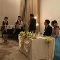 結婚式で演奏