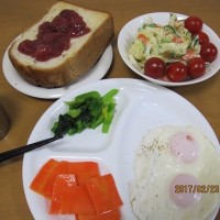 朝ご飯からの始まり・始まり