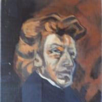 模写「ショパンの肖像」「ジュリアーノ・デ・メディチの肖像」