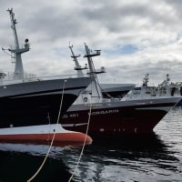 ファロー諸島の漁民が抗議
