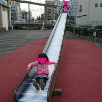 育児: ローラー滑り台