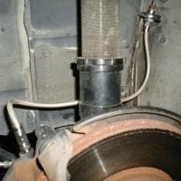 AE86 ブレーキホース交換