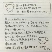 東京大学野球部負けてしまった!