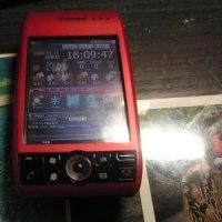 willcom 03 と 携帯まもるくん。