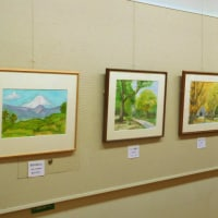 風景画展を観賞して新宿御苑を巡る(東京)