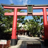 『浪速史跡めぐり』御霊神社・大阪は都心は淡路町に御霊神社、祭神は天照大神荒魂、津布良彦神、応神天皇、源正霊神