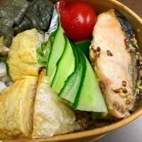 鮭のマスタードソース弁当