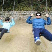つばさでのんびり組と公園組に分かれました