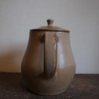 ● 茶釉コーヒーポット&ドリッパー / 桑原哲夫さん