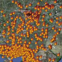 ロシアの森林火災は深刻