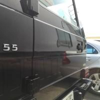ガラスコーティング AMG G55  カーサロンレガリア 仙台