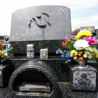 親父の墓参り