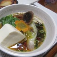 夫が久しぶりに風邪で・・・ 簡単湯豆腐と鰤の西京焼き