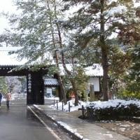 雪の南禅寺、天授庵