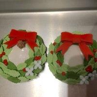 クリスマスアイシングクッキー続き