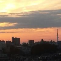 おはようございます。秋の空。