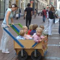 アムステルダム - お散歩中