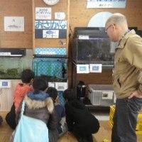 ボランティア解説員と過ごす多摩川自然情報館