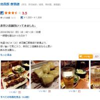 「食べログ」書いてます。