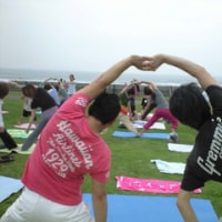 6/12(日)BeachClean&yoga@鵠沼海岸リポート「仲間」募集♪