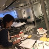 苺のショートケーキと珈琲のマリアージュ