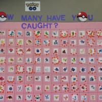 Pokemon Go、何種類捕まえた?