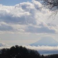 きょうのまめ太郎と富士山と(2016.12.01)