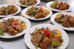 柿と紫玉ねぎのミントヨーグルトサラダ★ハーバルクラブ料理教室[5]