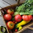 野菜の収穫をしなくては