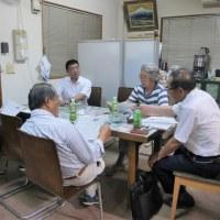 小久保貴史後援会の事務局会議に出席しました。