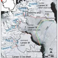 巨大氷山が~