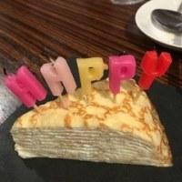 若いお友達の誕生日でした