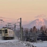 両毛線・まさかの雪景色 ~ニコン D5500編~