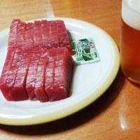 高知一番搾りと大鉢マグロ