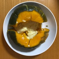 かぼちゃのチーズフォンデュ