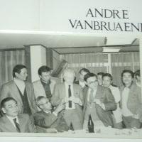 故アンドレ・ファンブリアーナと一緒に(アンドレの左が私、右が相川氏、前列左故佐藤金太郎氏)