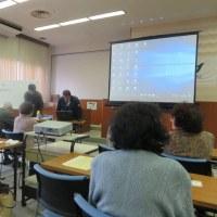 平成28年度「加治木ゆずり葉学級」(第8回)「危機管理の学習・閉講式」・・・姶良市加治木総合支所(多目的ホール)