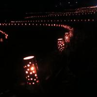 4000の灯 第5回深野棚田まつり開催される
