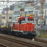 2017年6月27日  越中島支線  平井  DE10-1603 越中島工臨2 レール輸送列車 工臨チキ