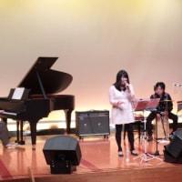 歌姫の共演を聴きに鏡野町ペスタロッチ館へ行ってきました(^^♪
