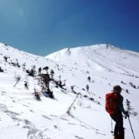 快晴・強風の御嶽山(飛騨山頂)登山