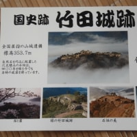 天空の城 「竹田城址」に登る。
